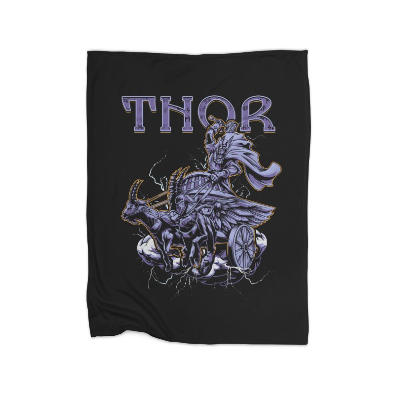 Thor Home Blanket by fishark's Artist Shop