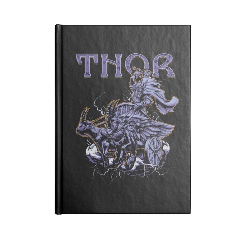 Thor Accessories Notebook by fishark's Artist Shop