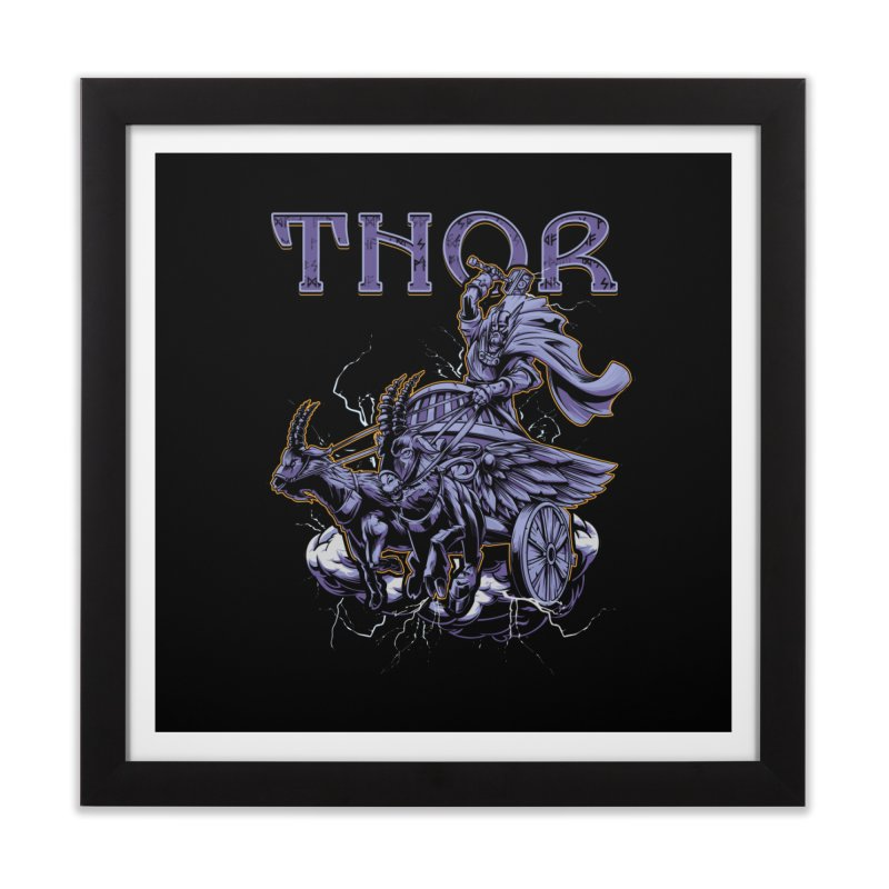 Thor Home Framed Fine Art Print by fishark's Artist Shop