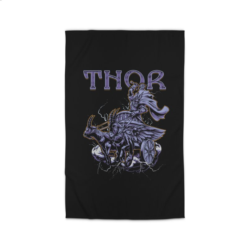 Thor Home Rug by fishark's Artist Shop