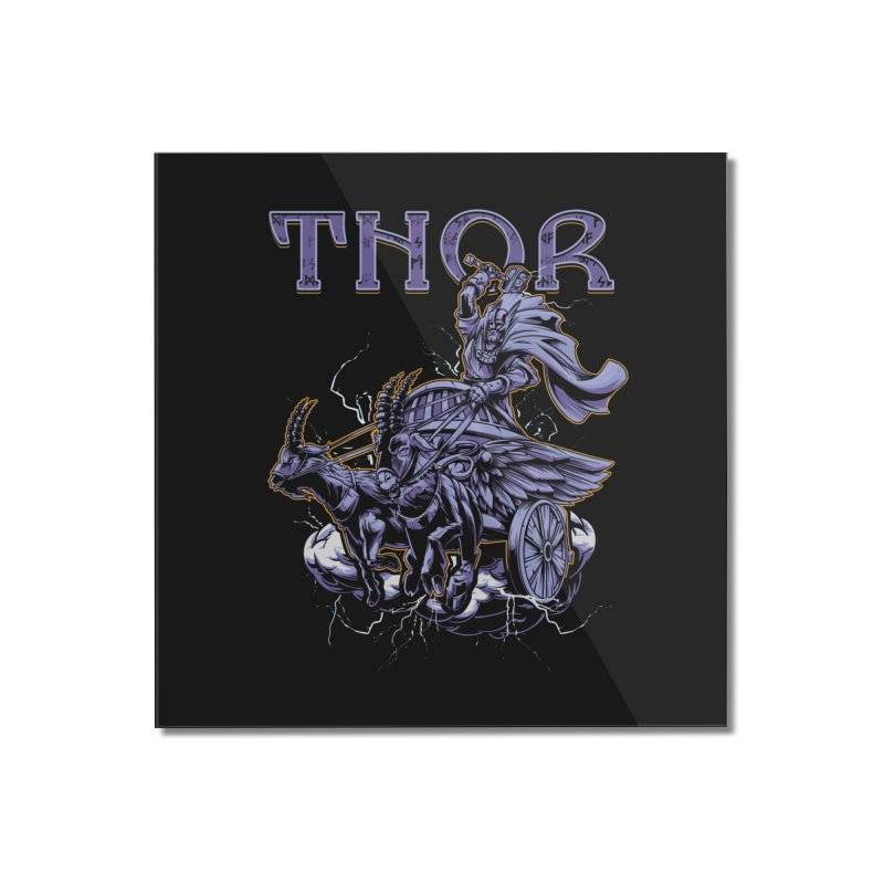 Thor Home Mounted Acrylic Print by fishark's Artist Shop