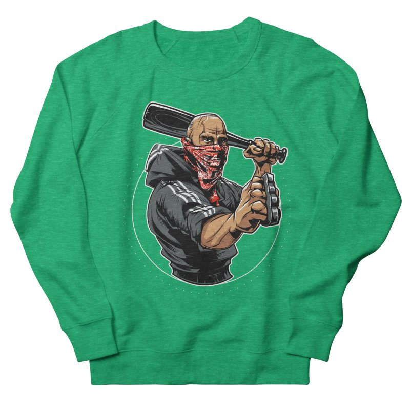 Bandit Men's Sweatshirt by fishark's Artist Shop
