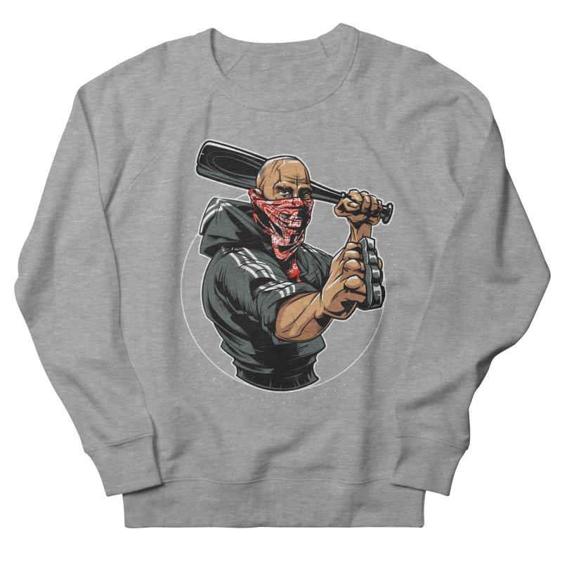 Bandit Men's French Terry Sweatshirt by fishark's Artist Shop