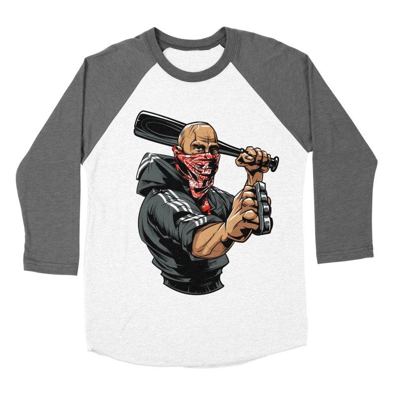 Bandit Men's Baseball Triblend Longsleeve T-Shirt by fishark's Artist Shop