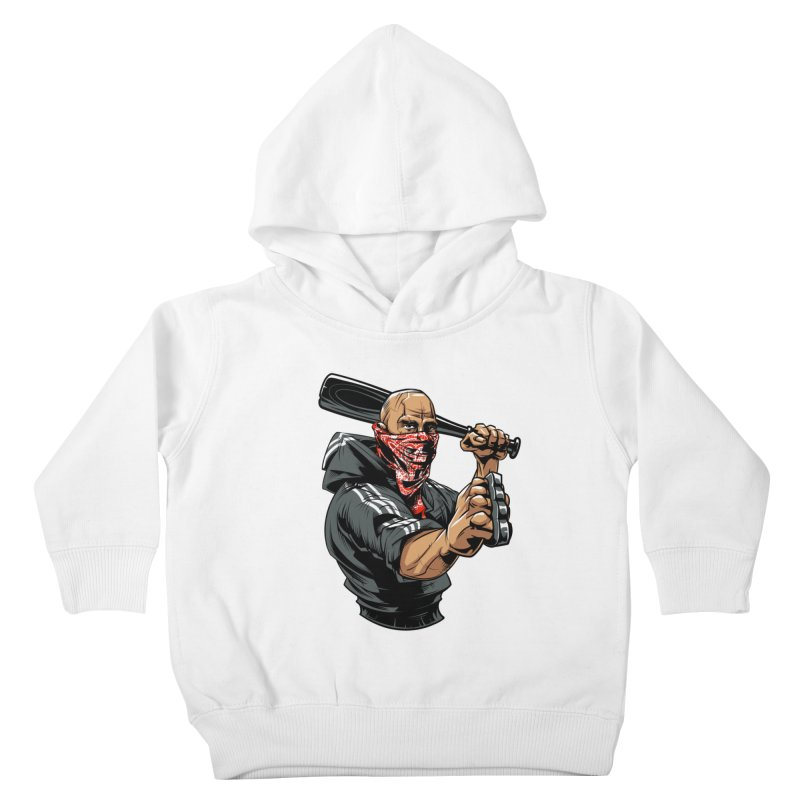 Bandit Kids Toddler Pullover Hoody by fishark's Artist Shop