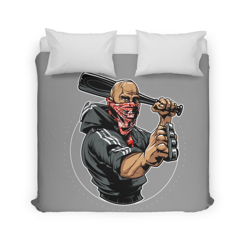 Bandit Home Duvet by fishark's Artist Shop