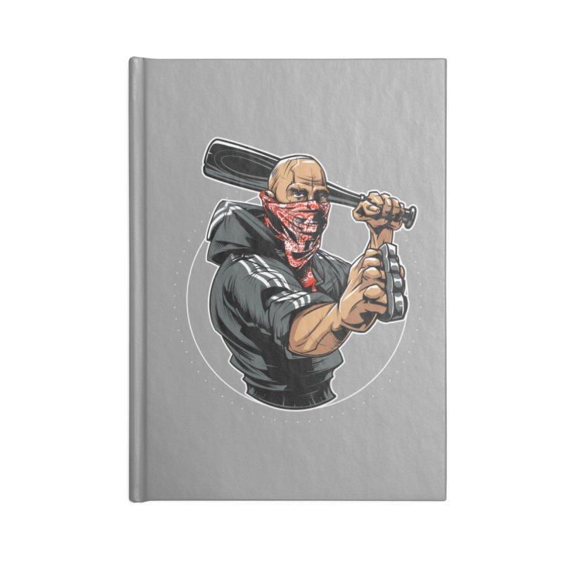 Bandit Accessories Lined Journal Notebook by fishark's Artist Shop