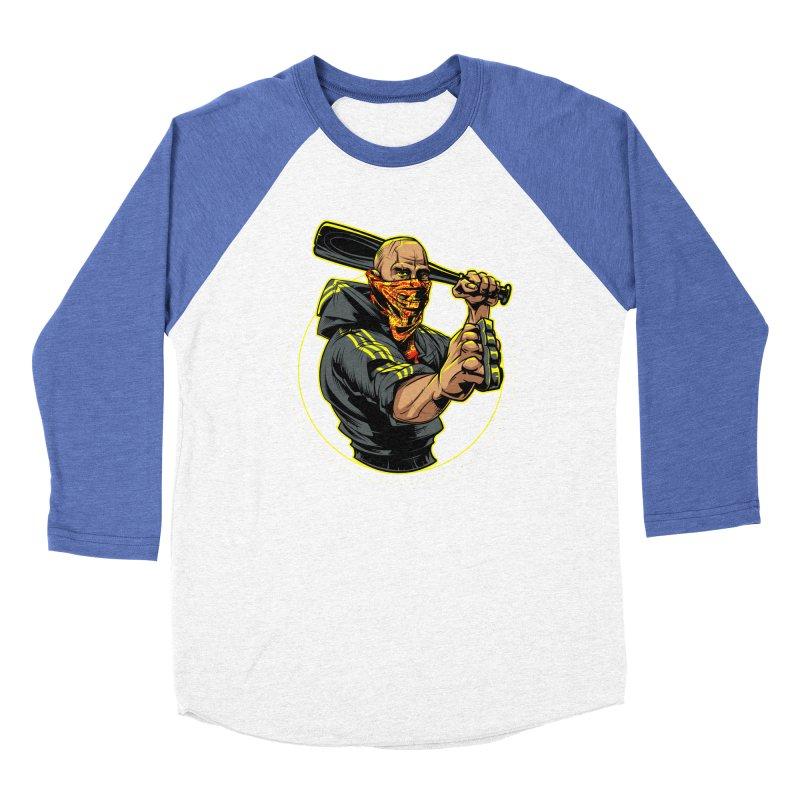 Bandit Women's Longsleeve T-Shirt by fishark's Artist Shop