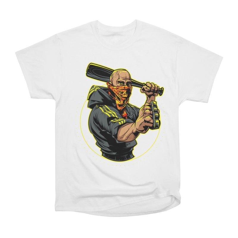 Bandit Women's Heavyweight Unisex T-Shirt by fishark's Artist Shop
