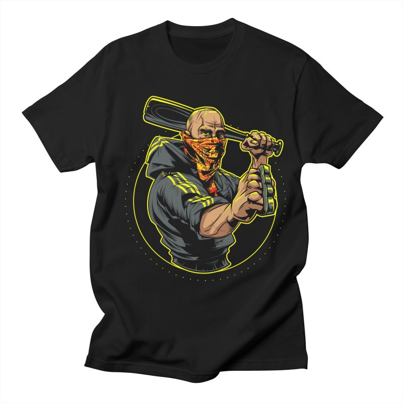 Bandit Men's Regular T-Shirt by fishark's Artist Shop