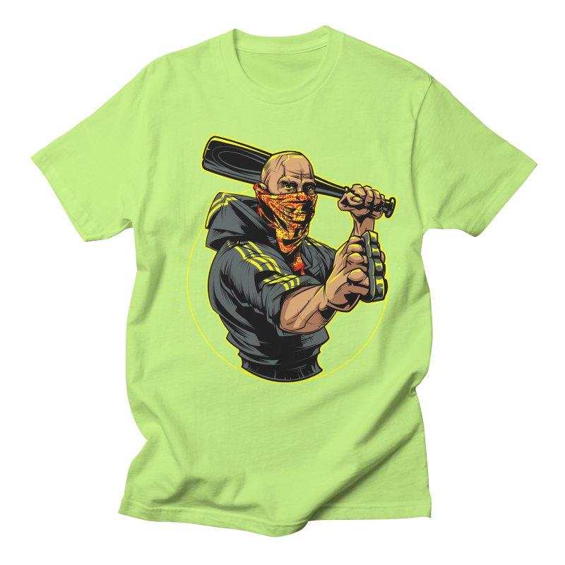 Bandit Men's Regular T-Shirt by fishark's Artist Shop
