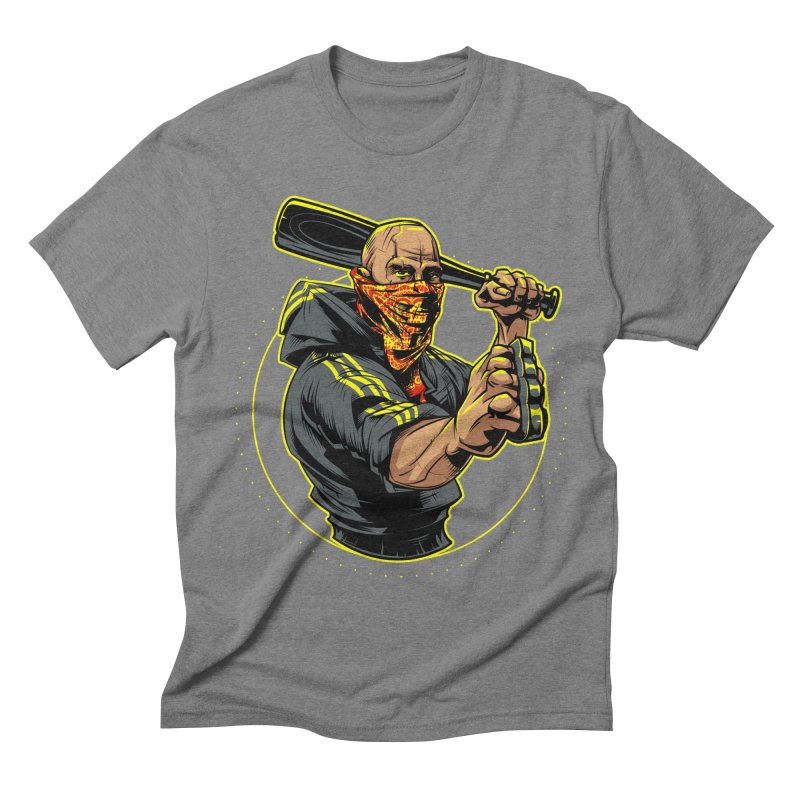 Bandit Men's Triblend T-Shirt by fishark's Artist Shop