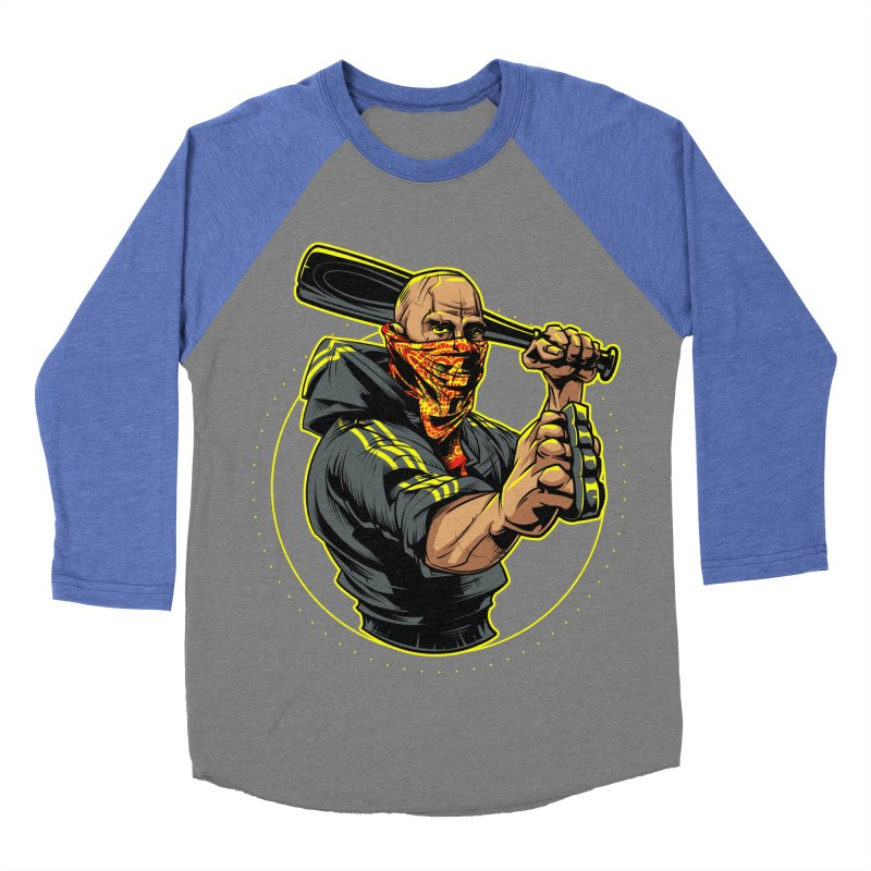 Bandit Men's Baseball Triblend T-Shirt by fishark's Artist Shop