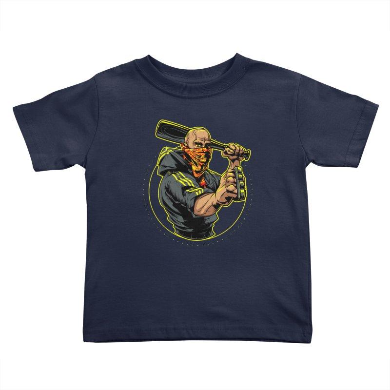 Bandit Kids Toddler T-Shirt by fishark's Artist Shop