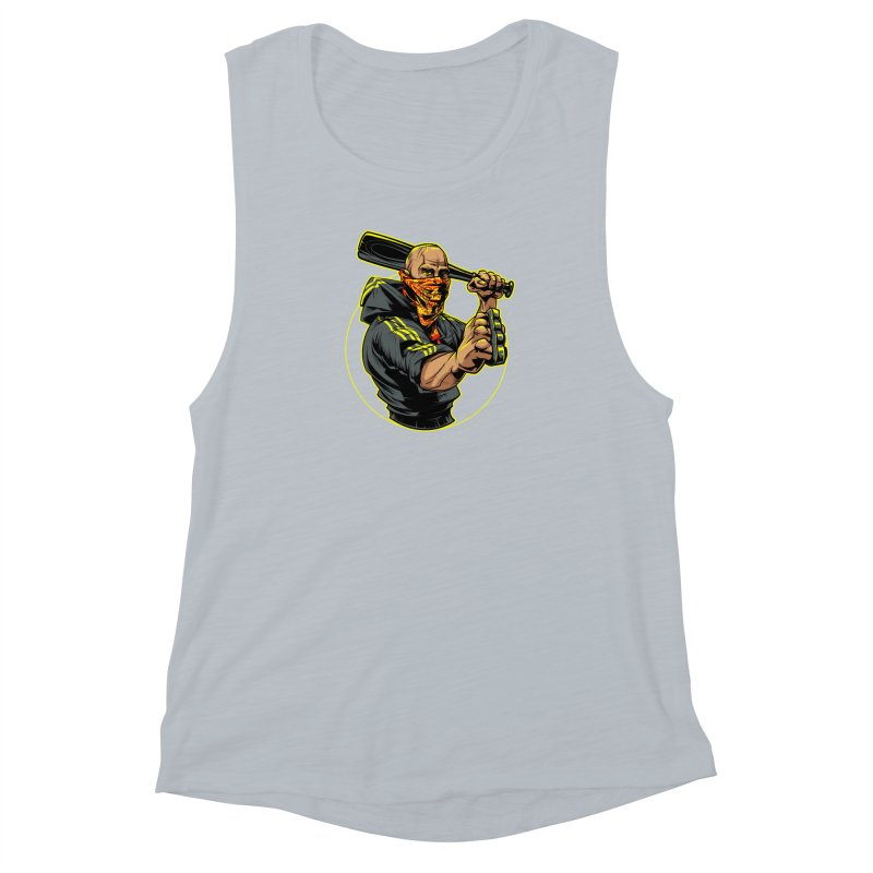 Bandit Women's Muscle Tank by fishark's Artist Shop