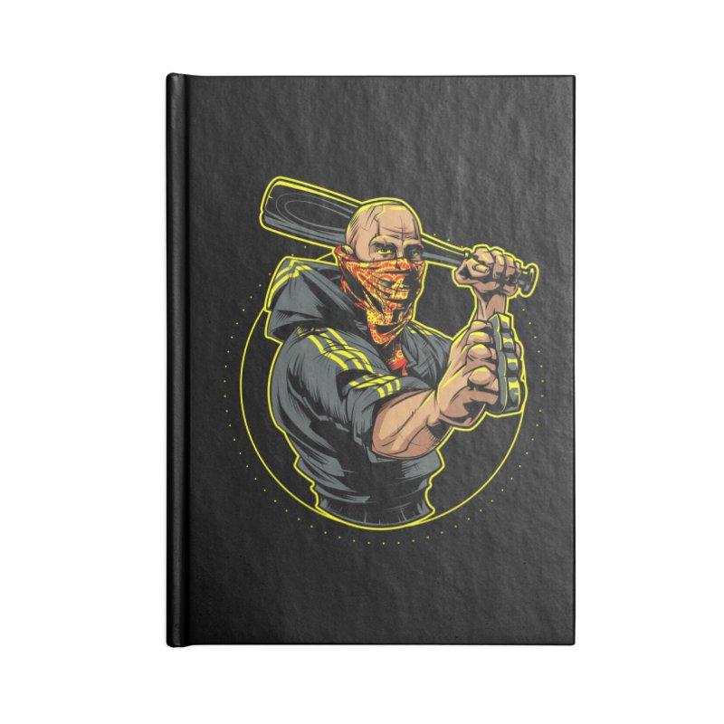 Bandit Accessories Notebook by fishark's Artist Shop