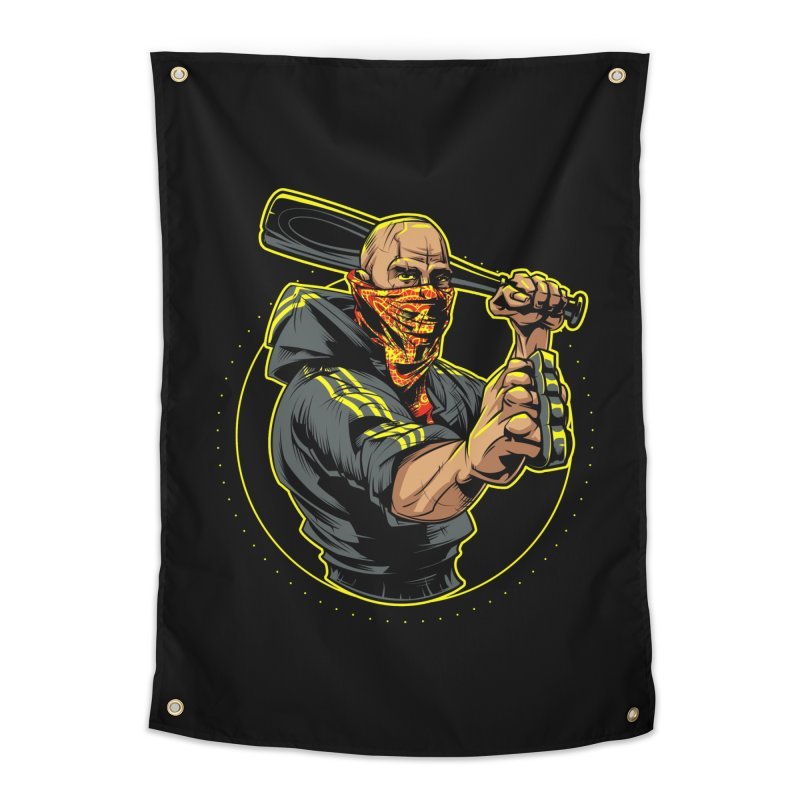 Bandit Home Tapestry by fishark's Artist Shop