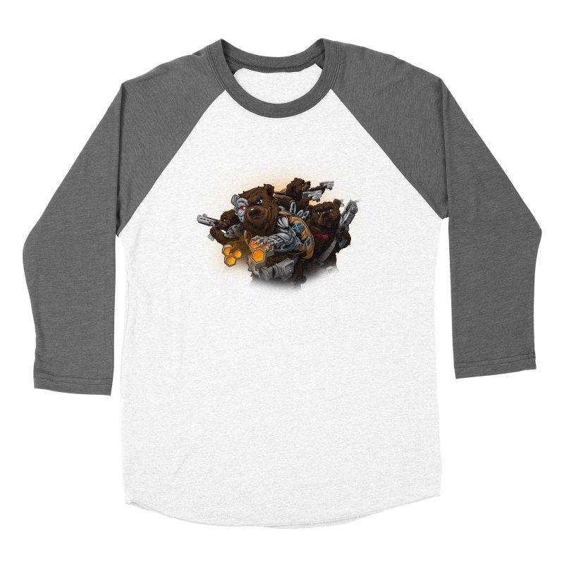 Cyber bears Women's Longsleeve T-Shirt by fishark's Artist Shop