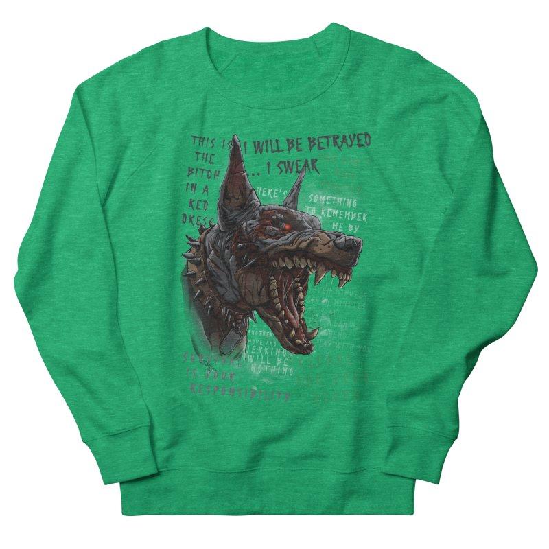 Evil cyber dog Women's Sweatshirt by fishark's Artist Shop