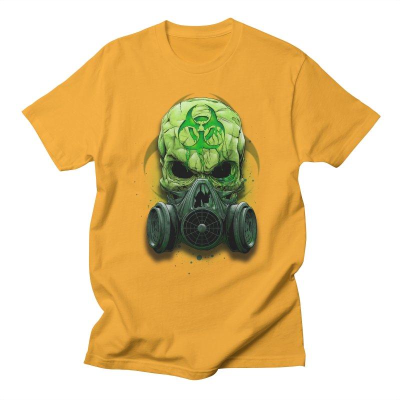 skull biohazard Women's Regular Unisex T-Shirt by fishark's Artist Shop