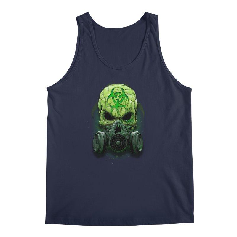 skull biohazard Men's Regular Tank by fishark's Artist Shop