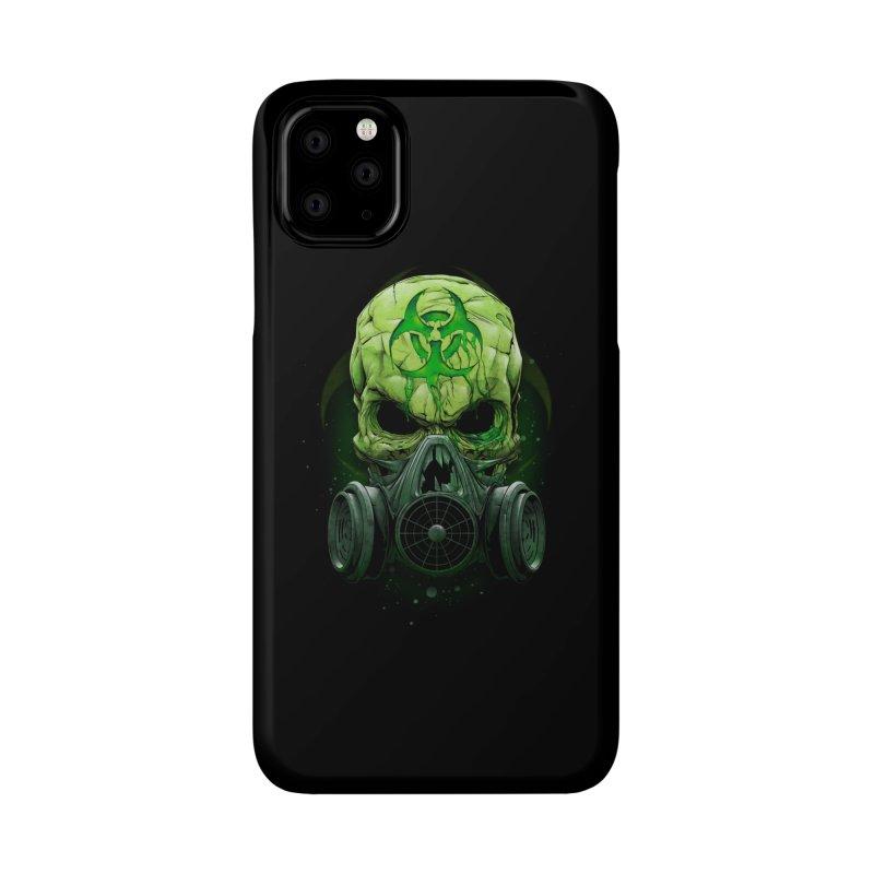 skull biohazard Accessories Phone Case by fishark's Artist Shop