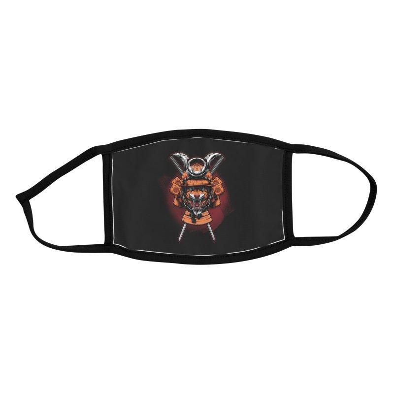 Tiger samurai Accessories Face Mask by fishark's Artist Shop