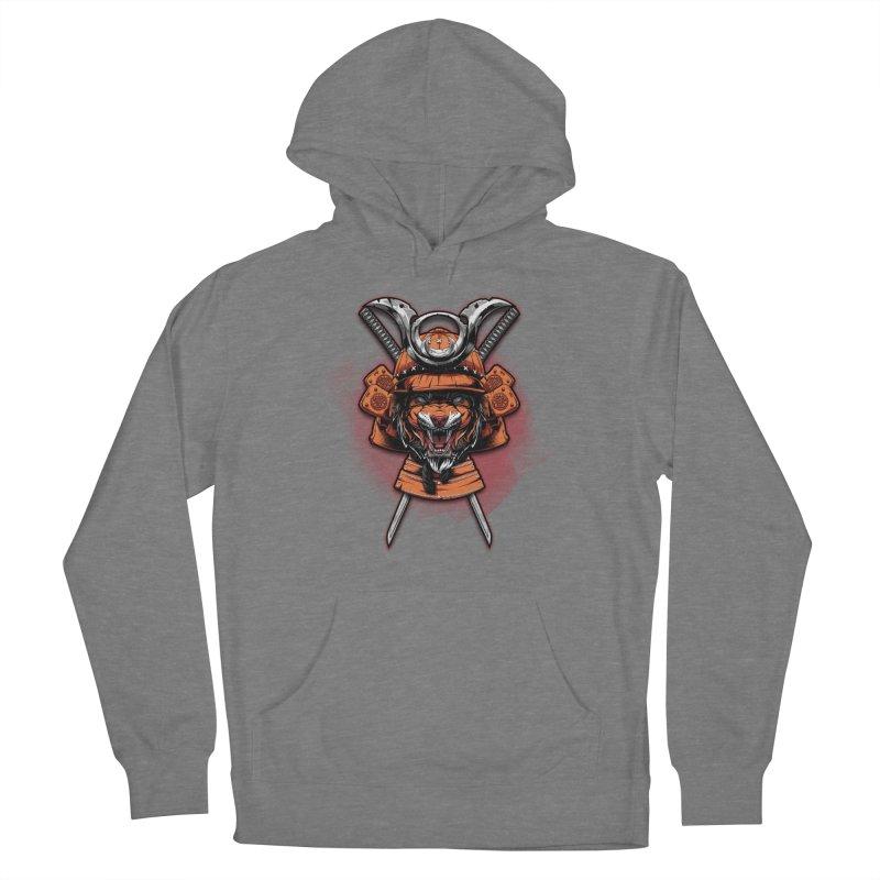 Tiger samurai Women's Pullover Hoody by fishark's Artist Shop