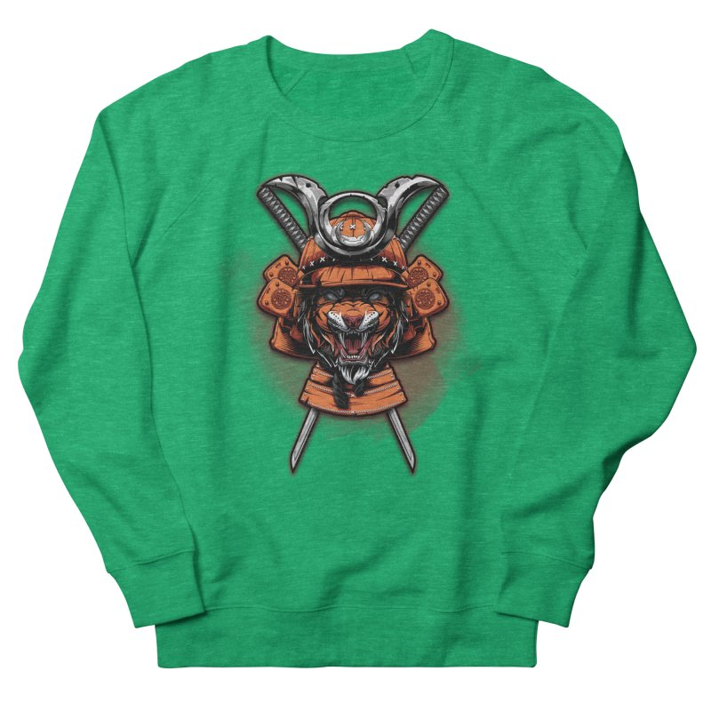 Tiger samurai Women's Sweatshirt by fishark's Artist Shop