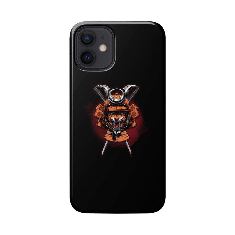 Tiger samurai Accessories Phone Case by fishark's Artist Shop