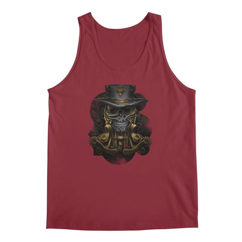 steampunk skull Men's Regular Tank by fishark's Artist Shop