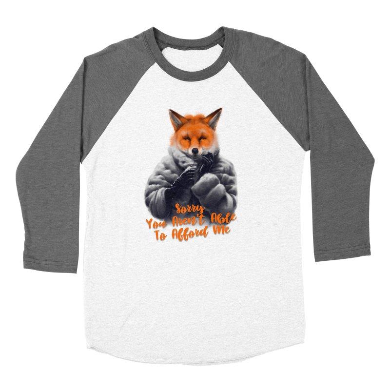 Fox Women's Longsleeve T-Shirt by fishark's Artist Shop