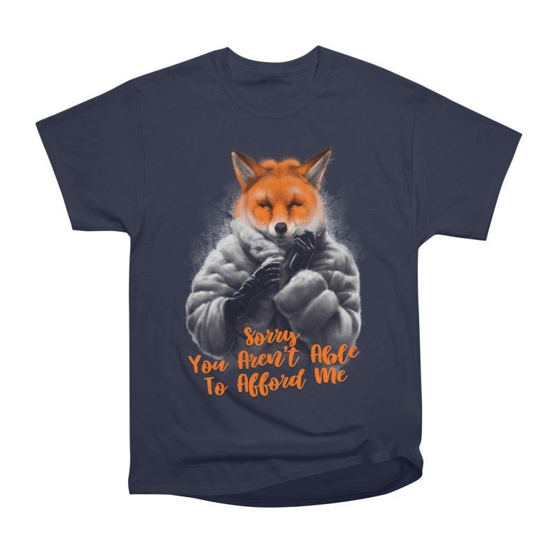 Fox Women's Heavyweight Unisex T-Shirt by fishark's Artist Shop