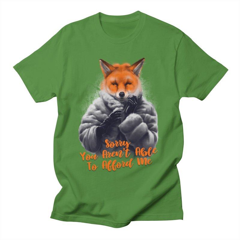 Fox Women's Regular Unisex T-Shirt by fishark's Artist Shop