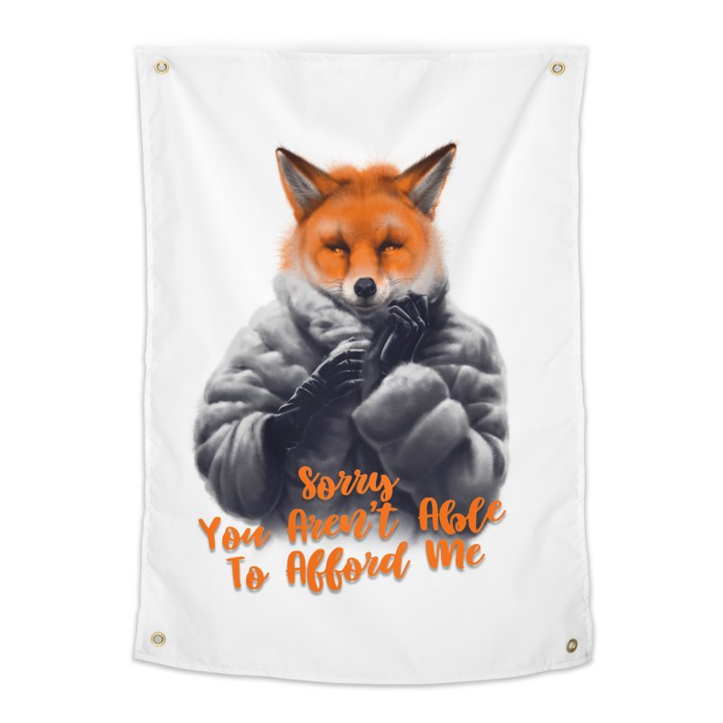 Fox Home Tapestry by fishark's Artist Shop