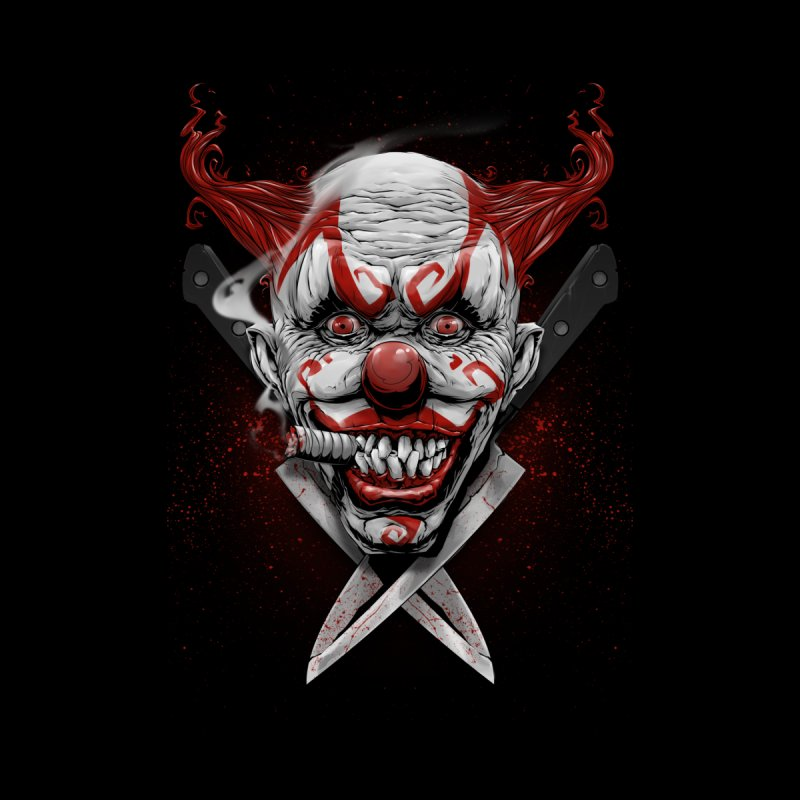 angry clown Men's T-Shirt by fishark's Artist Shop