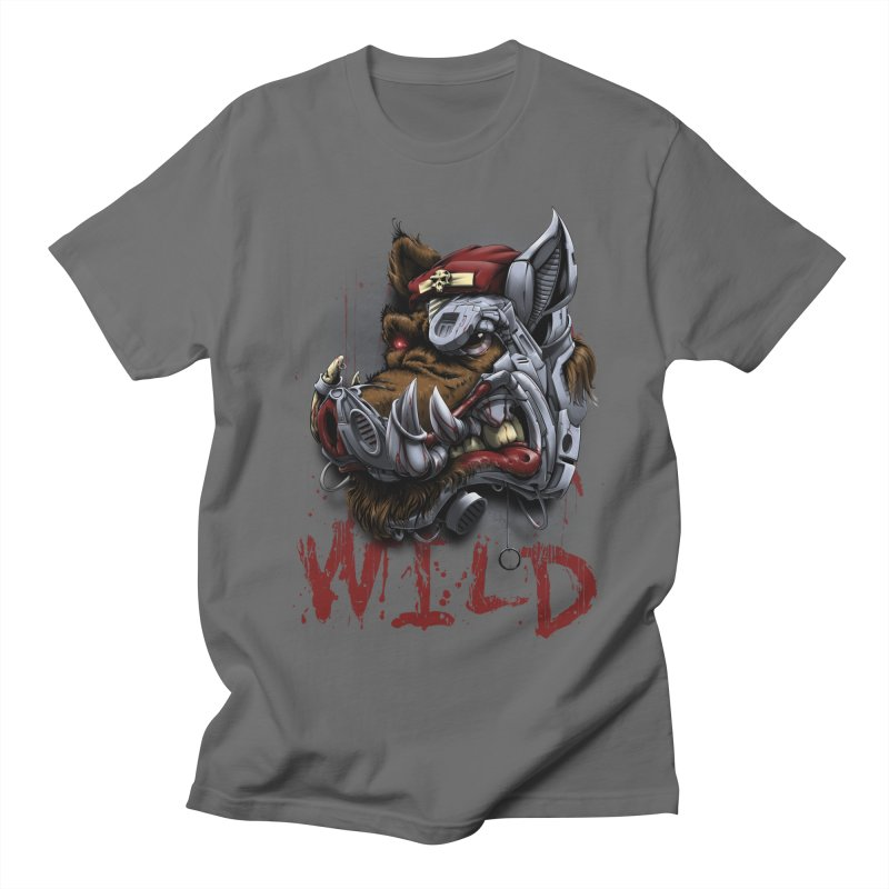 wild boar Men's T-Shirt by fishark's Artist Shop
