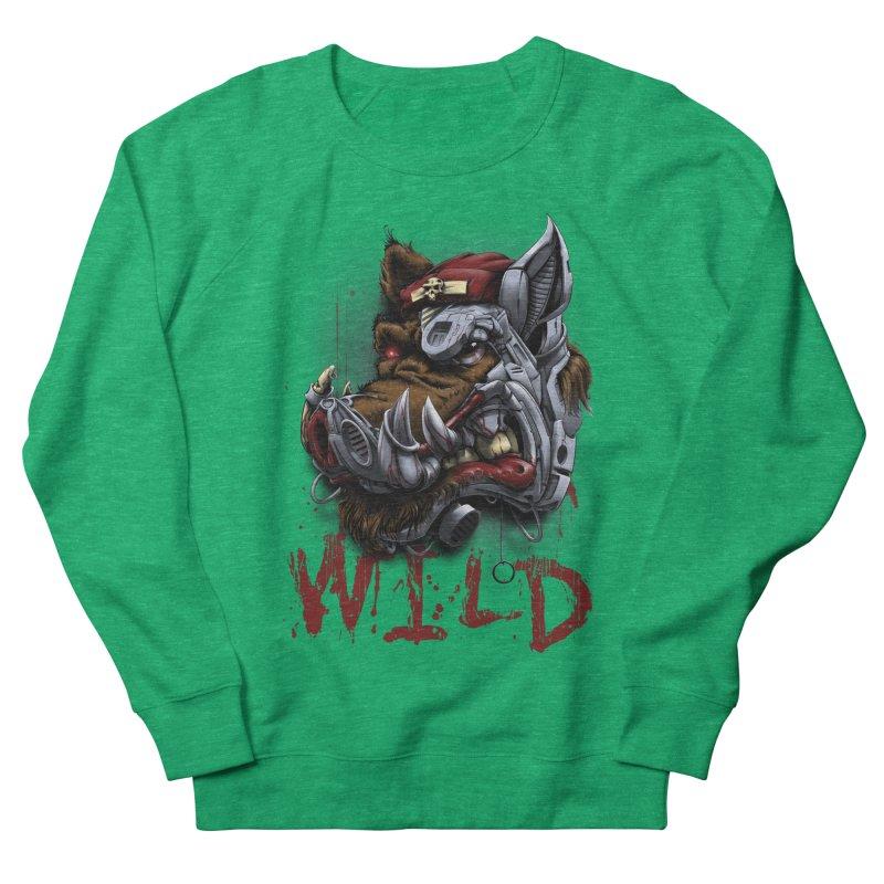 wild boar Women's Sweatshirt by fishark's Artist Shop