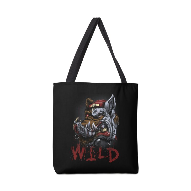wild boar Accessories Tote Bag Bag by fishark's Artist Shop