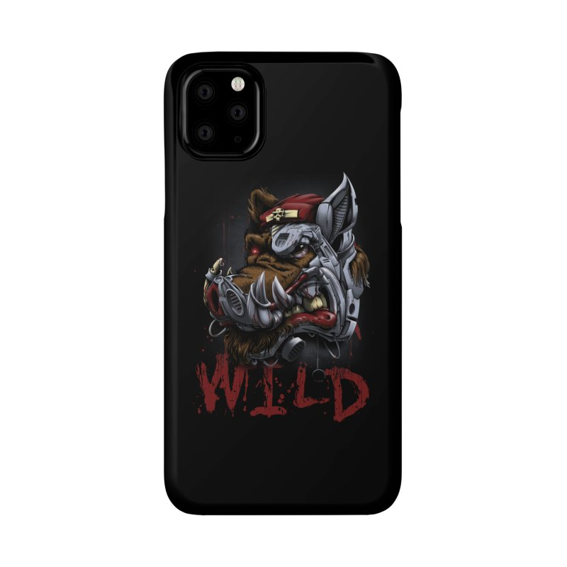 wild boar Accessories Phone Case by fishark's Artist Shop