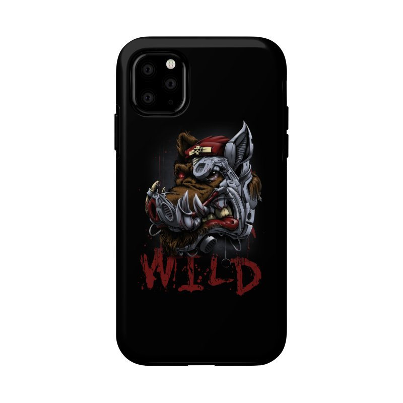 wild boar Accessories Phone Case by fishark's Artist Shop
