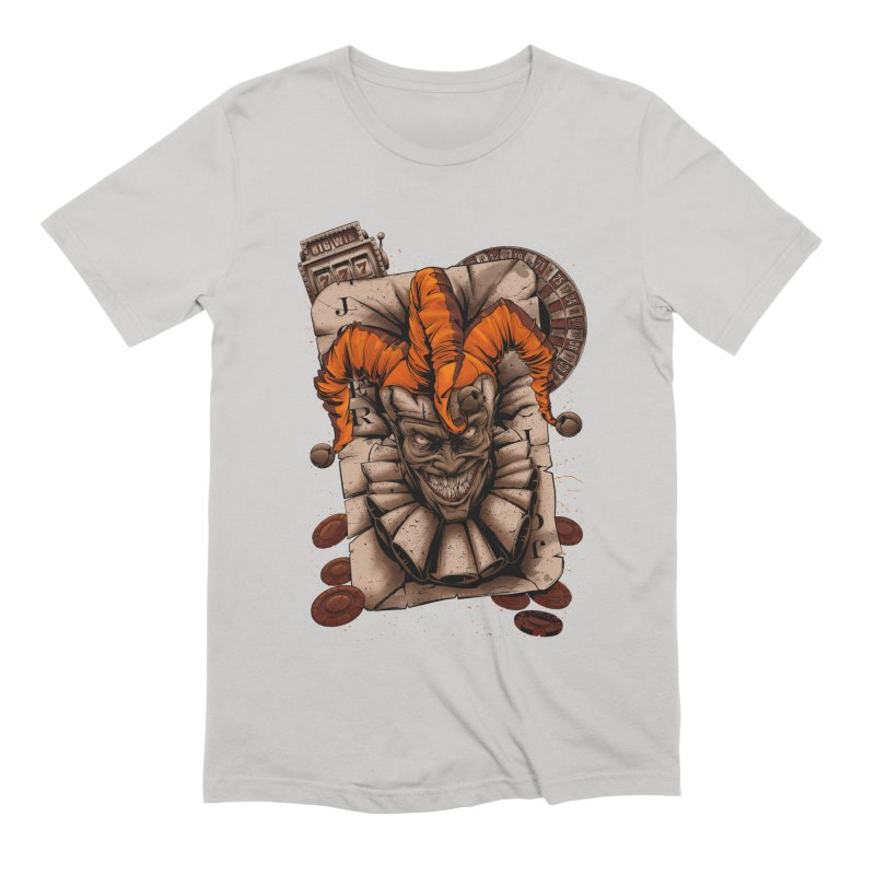 joker Men's Extra Soft T-Shirt by fishark's Artist Shop