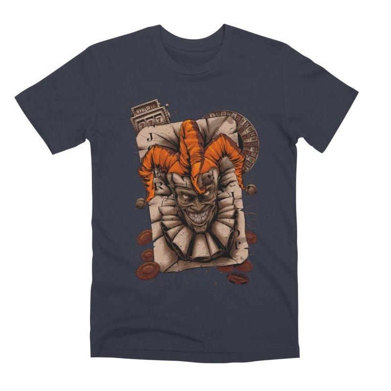 joker Men's Premium T-Shirt by fishark's Artist Shop