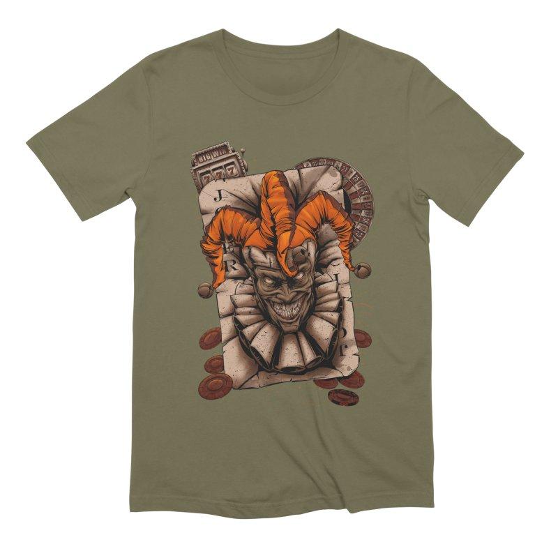 joker Men's Extra Soft T-Shirt by fishark's Artist Shop