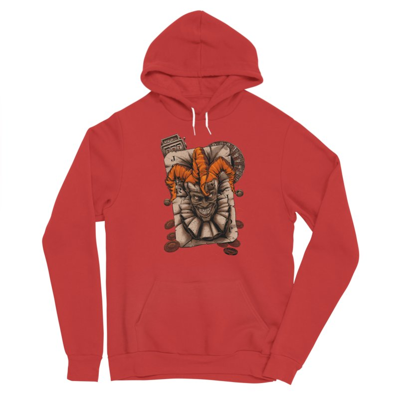 joker Men's Sponge Fleece Pullover Hoody by fishark's Artist Shop