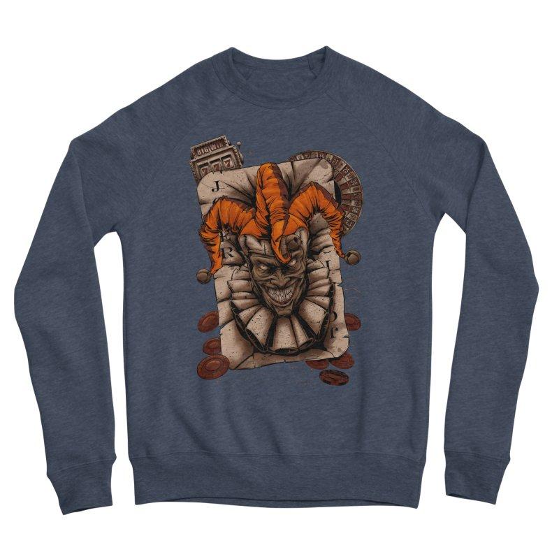 joker Men's Sponge Fleece Sweatshirt by fishark's Artist Shop