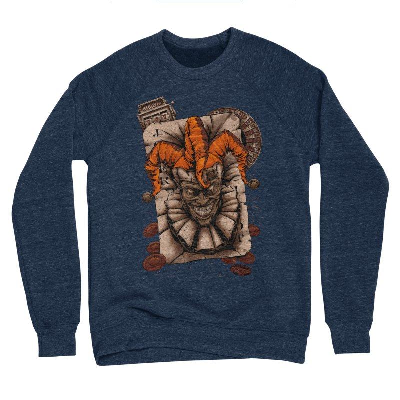 joker Women's Sponge Fleece Sweatshirt by fishark's Artist Shop