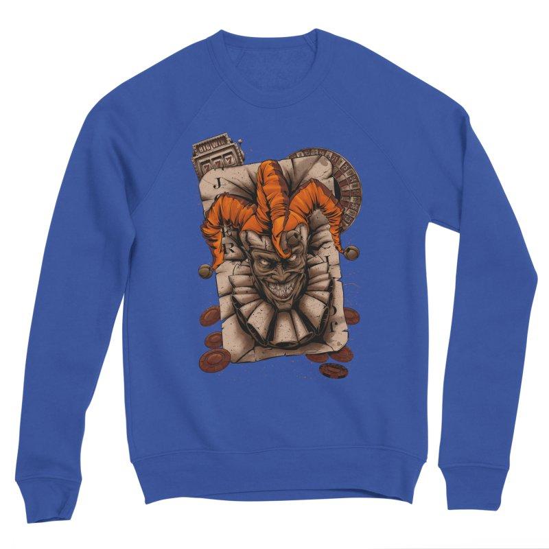 joker Men's Sweatshirt by fishark's Artist Shop