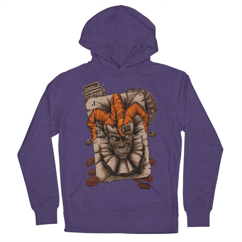 joker Women's French Terry Pullover Hoody by fishark's Artist Shop