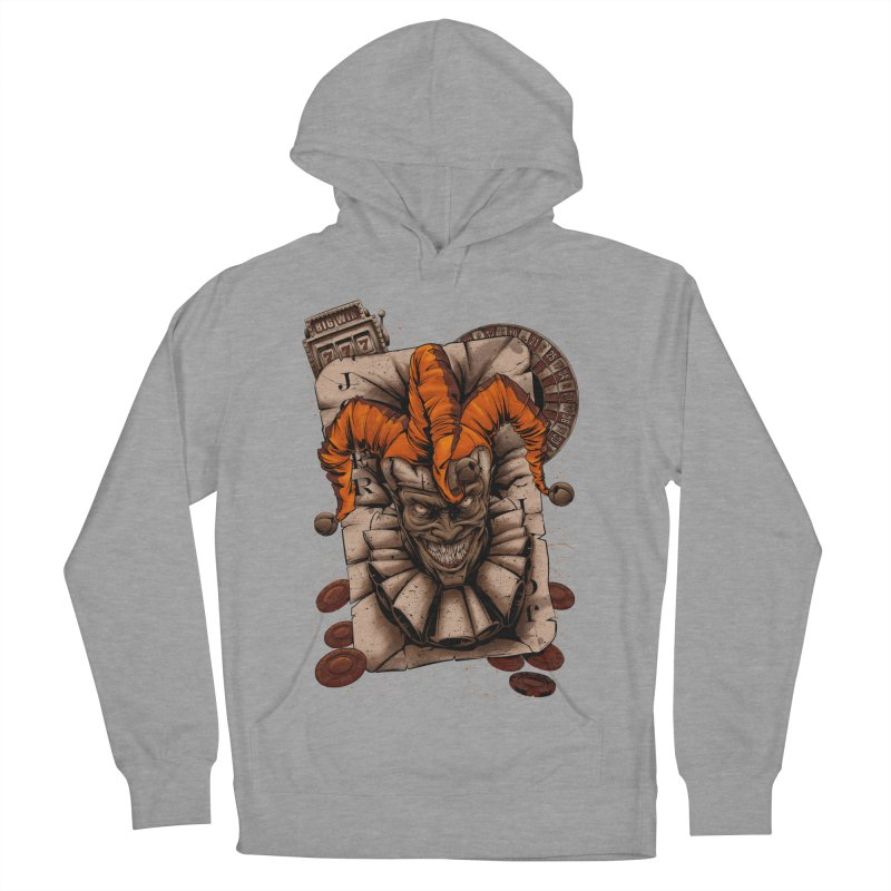 joker Men's French Terry Pullover Hoody by fishark's Artist Shop